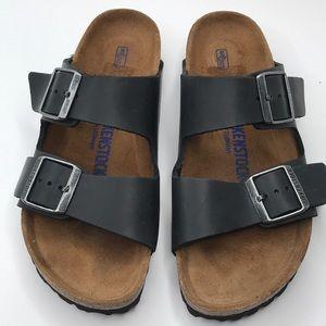 Birkenstock Arizona Soft Footbed Sandal size 38
